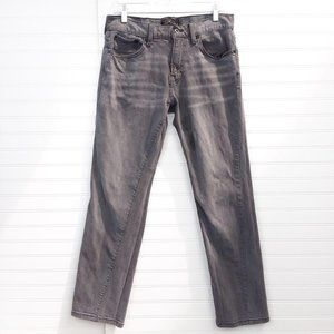 Lucky Brand Charcoal 221 Original Straight Jeans